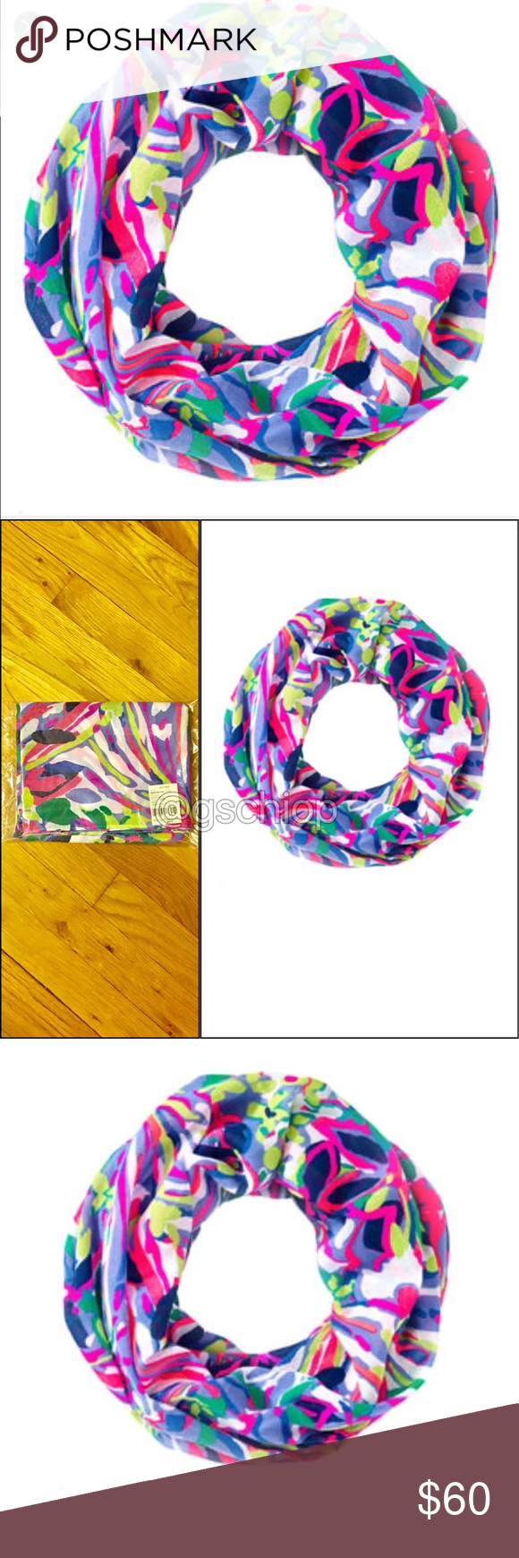 Lilly Pulitzer Infinity Scarf Lilly Pulitzer Infinity Scarf. Havin a blast.New in original package, exactly as seen Lilly Pulitzer Accessories Scarves & Wraps