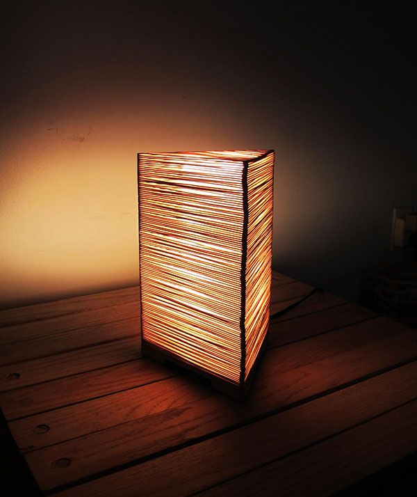 Coffee Stir Sticks Popsicle Lamp On Behance