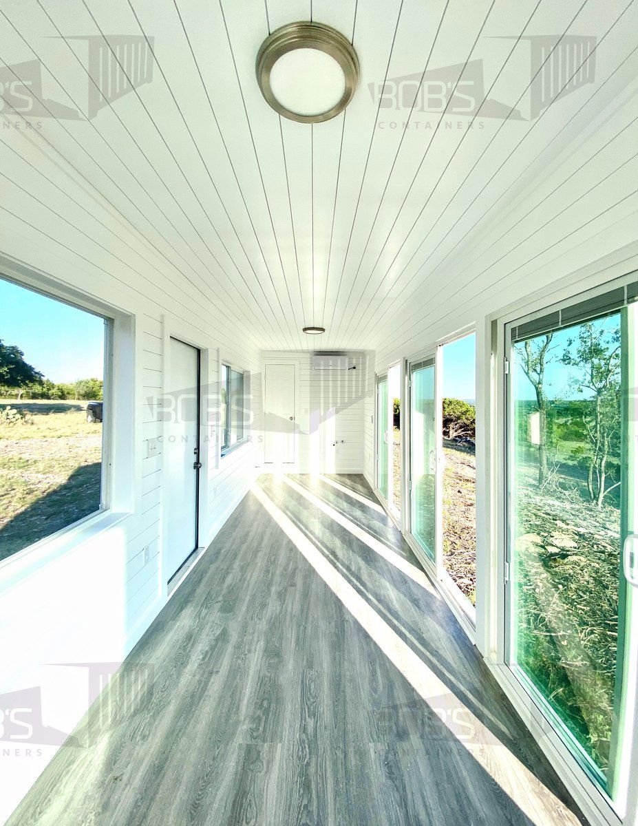 "Photo of 40′ Container Home | ""The Cedar"" Model"