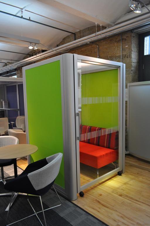 telephone office pod office furniture scene touchdown