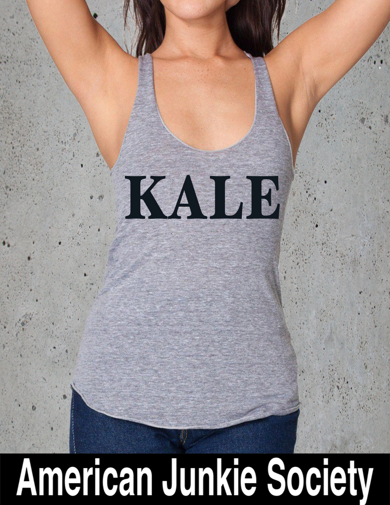KALE tank Christmas Gifts Idea for her/him. College Student Gift. Girlfriend/Boyfriend GIfts.Mens/Womens Graphic Tees  Popular Trending Now