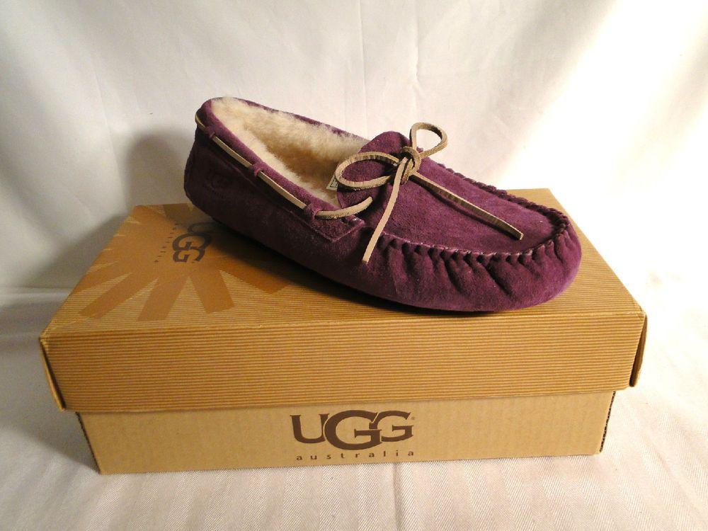 UGG Australia PORT Purple DAKOTA Shearling Slippers Shoes 5612 42/11~ NEW in Clothing
