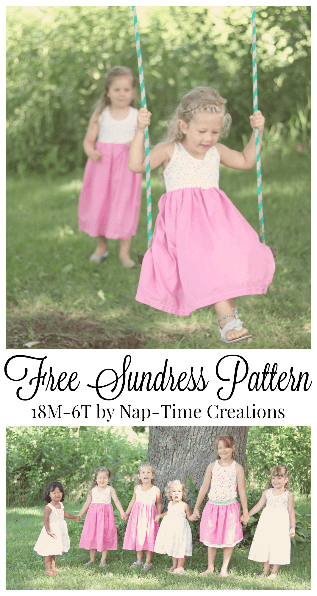 girls free sundress pattern 18M -6T from Nap-Time Creations | bebe ...