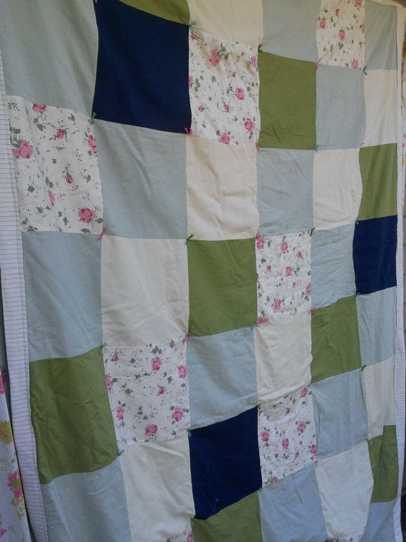 Upcycled Patchwork Quilt