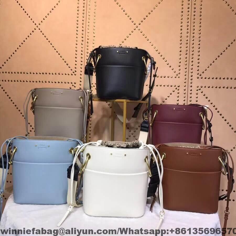 8c2aa24b3d Chloe Small Roy Bucket Bag in Smooth Calfskin 2018