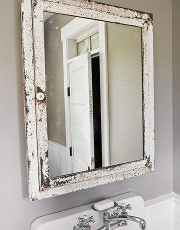 Vintage White Bathroom Mirror Unique Bathroom Mirrors Bathroom