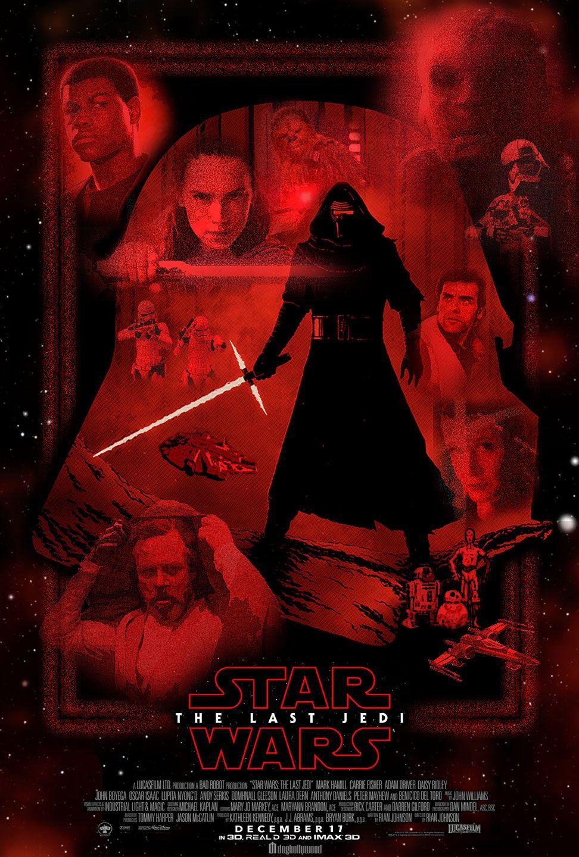 The Last Jedi Star Wars Poster Star Wars The Last Jedi By Doghollywood On Deviantart Star Wars Poster Star Wars Watch Star Wars Episodes