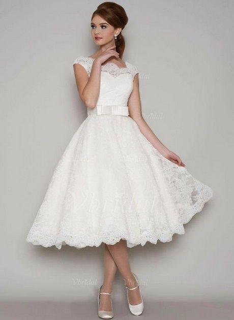 Weisses kleid für standesamt | Kurzes hochzeitskleid ...