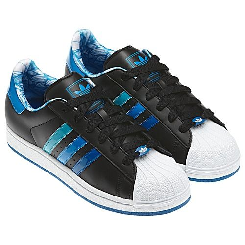 adidas superstar 2 blue black