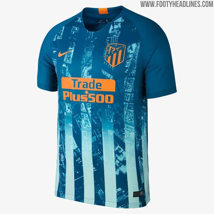Nike Atletico Madrid 18-19 Third Kit Released - Footy Headlines Football  Tops 2a92c293e