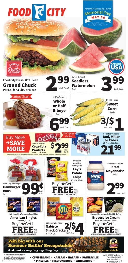 Pin by My Catalog on Weekly Ads Food