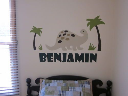 Wall Decal For Dino Room Vinyl Wall Stickers Pottery
