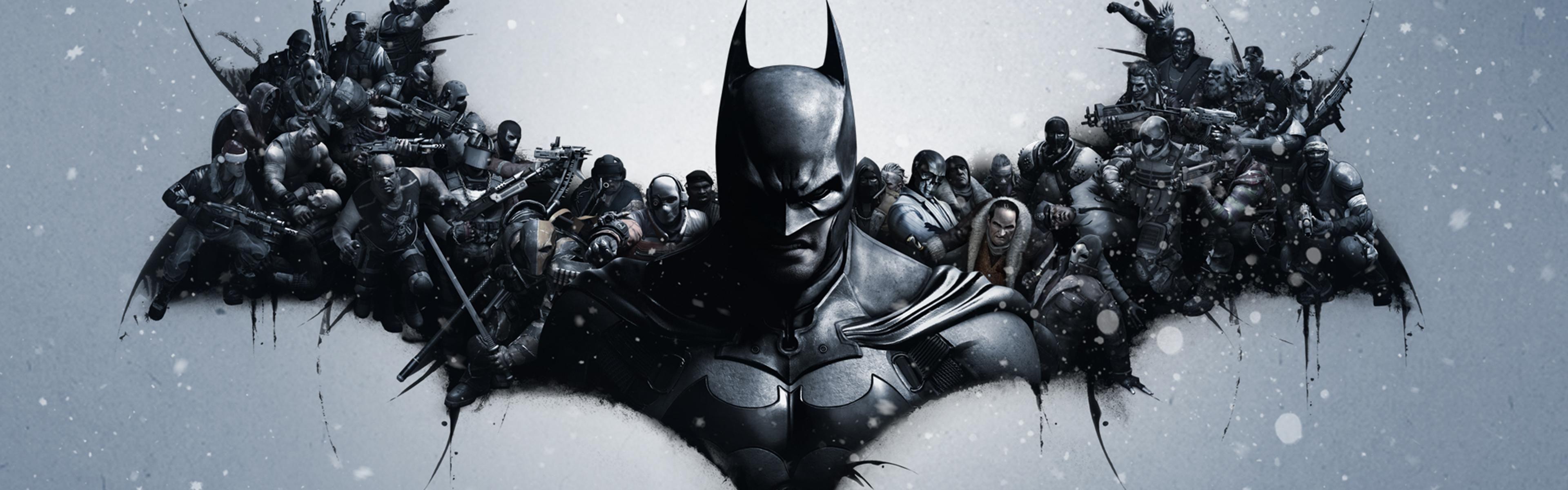 Batman Logo Dual Screen 4k Wallpaper G Batman Batman Arkham