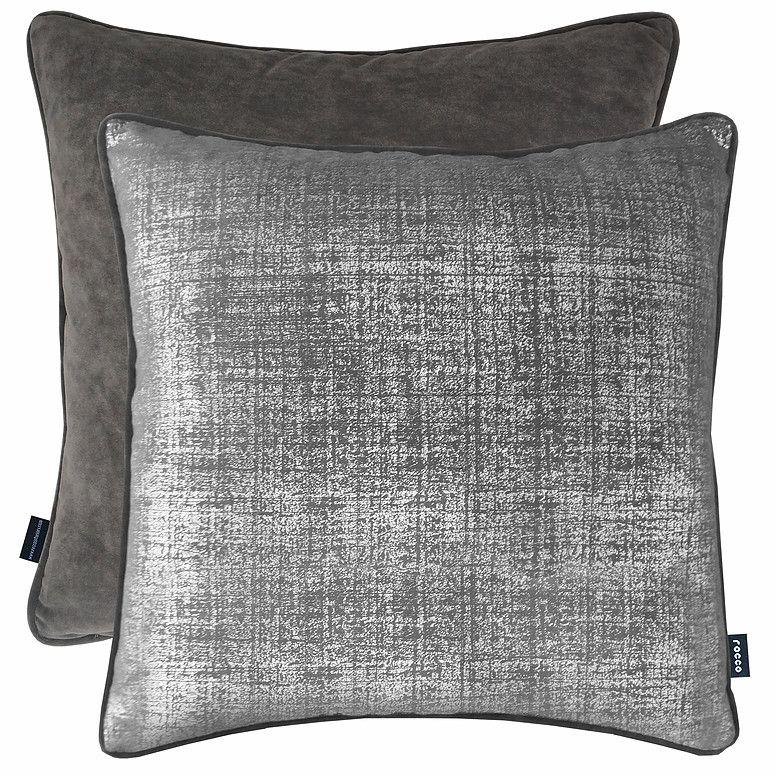 Rocco Interiors | Aura Silver Cushion