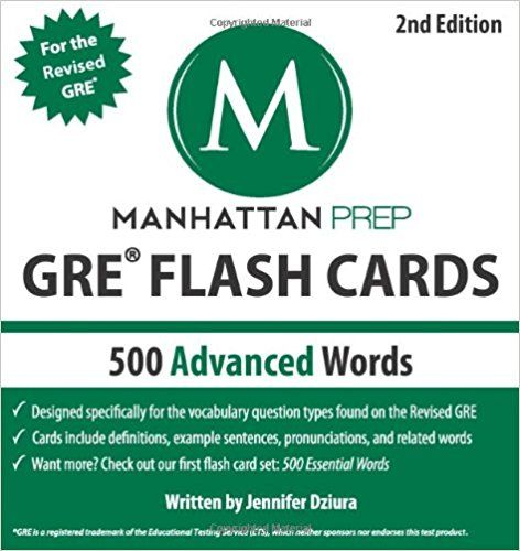 PDF DOWNLOAD 500 Essential Words GRE Vocabulary Flash Cards