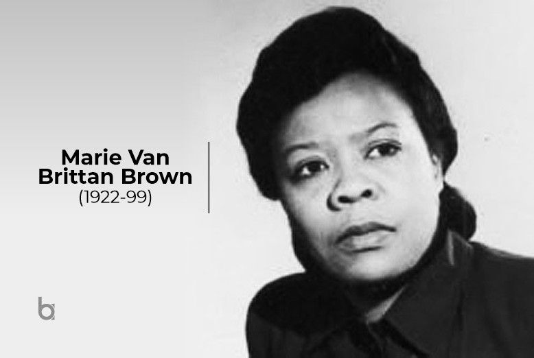 Marie Van Brittan Brown (1922-99) | Women in history, Famous women, History