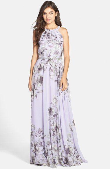 e53126b006aa Eliza J Belted Chiffon Maxi Dress (Regular & Petite) | MAXI ADDICT ...