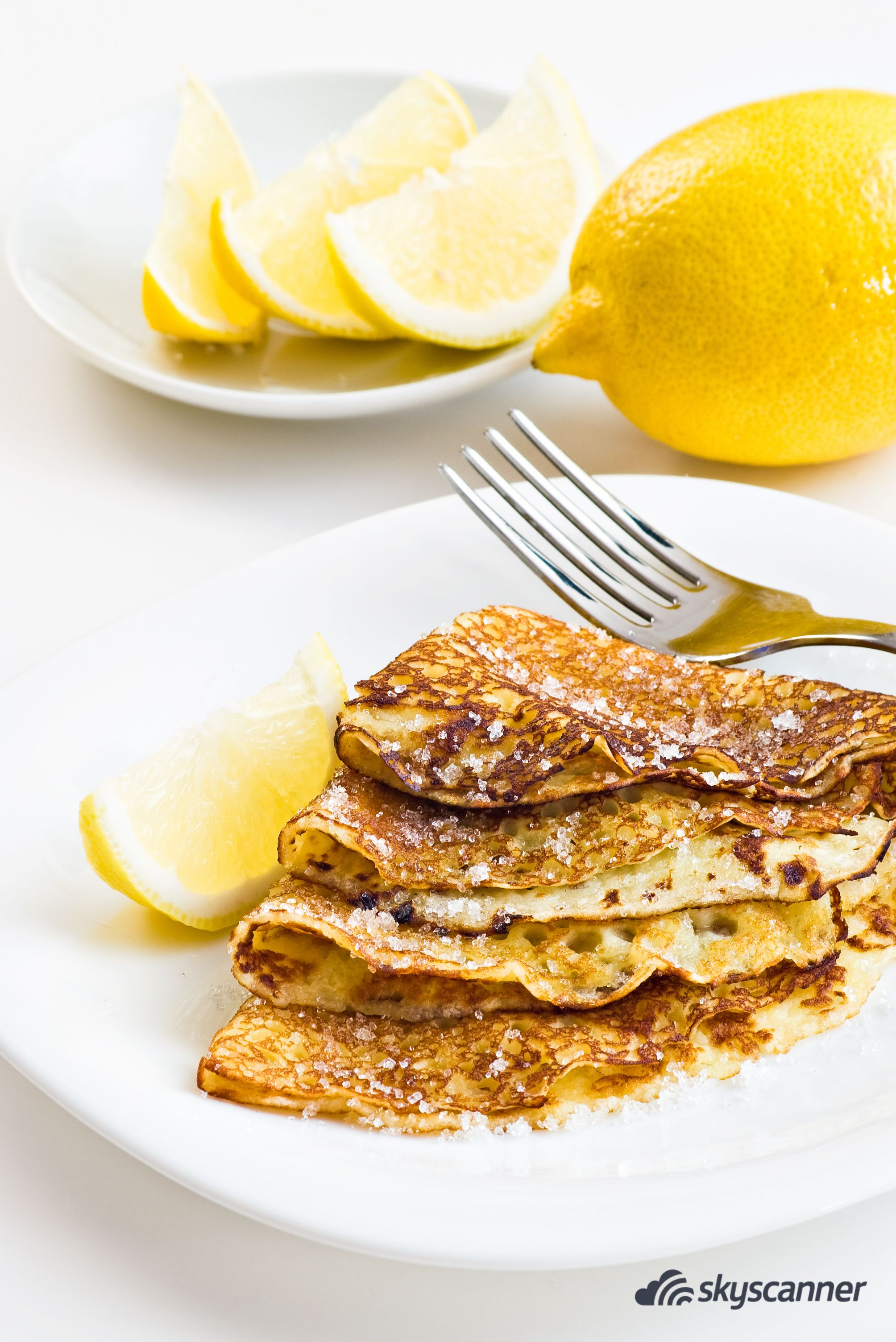 Want pancakes with cabbage and eggs