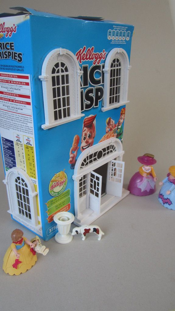 Cereal box, Baroque house 3D printer | 3D Printing | Pinterest ... on waffle box house, making house, cardboard box house, cracker box house,