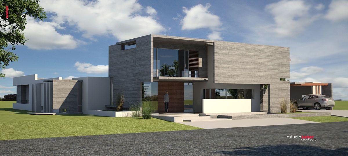 107 casa moderna hormigon hormipresa modelos de casas On casa moderna hormigon