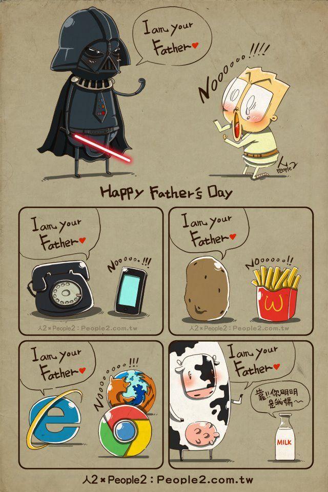 #Humor Geek: Luke, yo soy tu padre!
