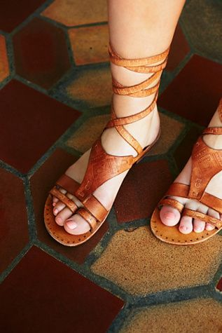 b67696c68830 Get the FP Collection Oliviera wrap sandal