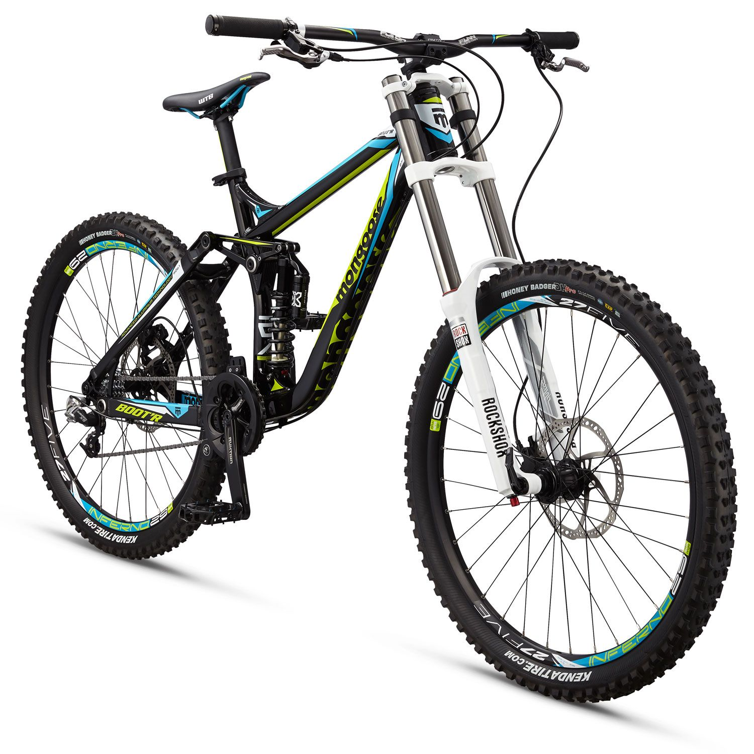 5377cd8a1c6 <p> The Mongoose Boot'r brings something long missing from the world of  downhill bicycles -- value. With an all-aluminum frame and utilizing the  proven ...