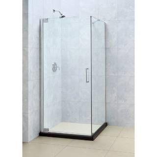 Check Out The Dreamline Shen 4130320 Elegance 30 X 32 Frameless Pivot Shower Enclosure Corner Shower Enclosures Frameless Shower Enclosures Shower Enclosure