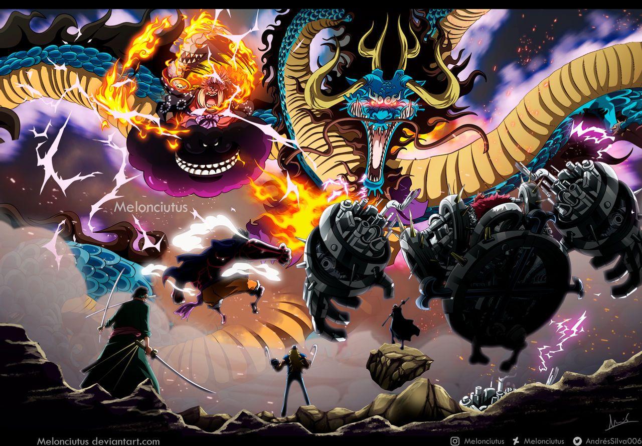 One Piece 1001 - Batalla de Onigashima by Melonciutus on DeviantArt