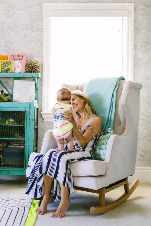 Courtney Werner's beautiful beach home will certainly make you swoon. Get the scoop from this creative mama on interior decorating, shopping, motherhood and more. Full interview and home tour available on Home With Her www.homewithher.com #inspiringmom