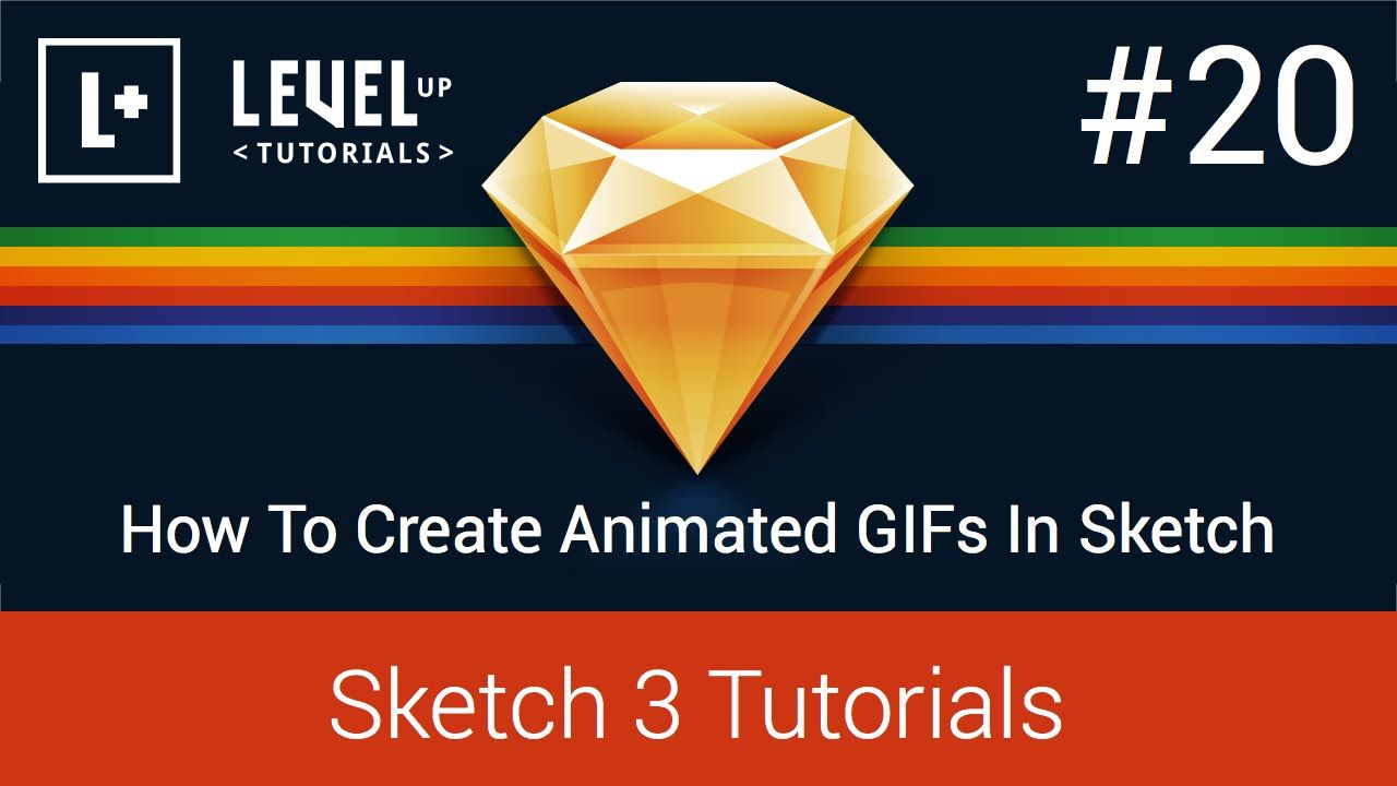 #20 How To Create Animated GIFs In Sketch - Sketch 3 Tutorials