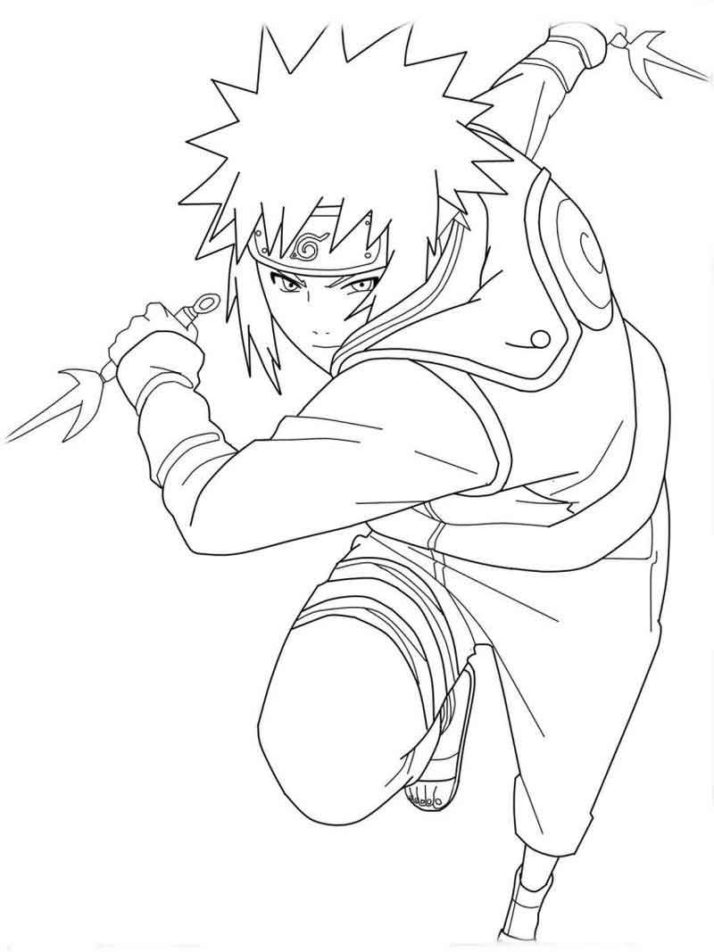 Naruto Printable Coloring Page For Kids Cartoon Coloring Pages Coloring Pages Naruto Sketch Drawing