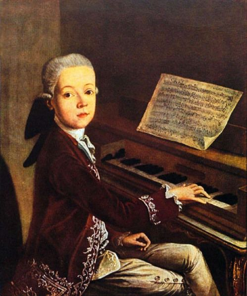 4.  Mozart wrote his first symphony at age 8 and first opera at age 14.