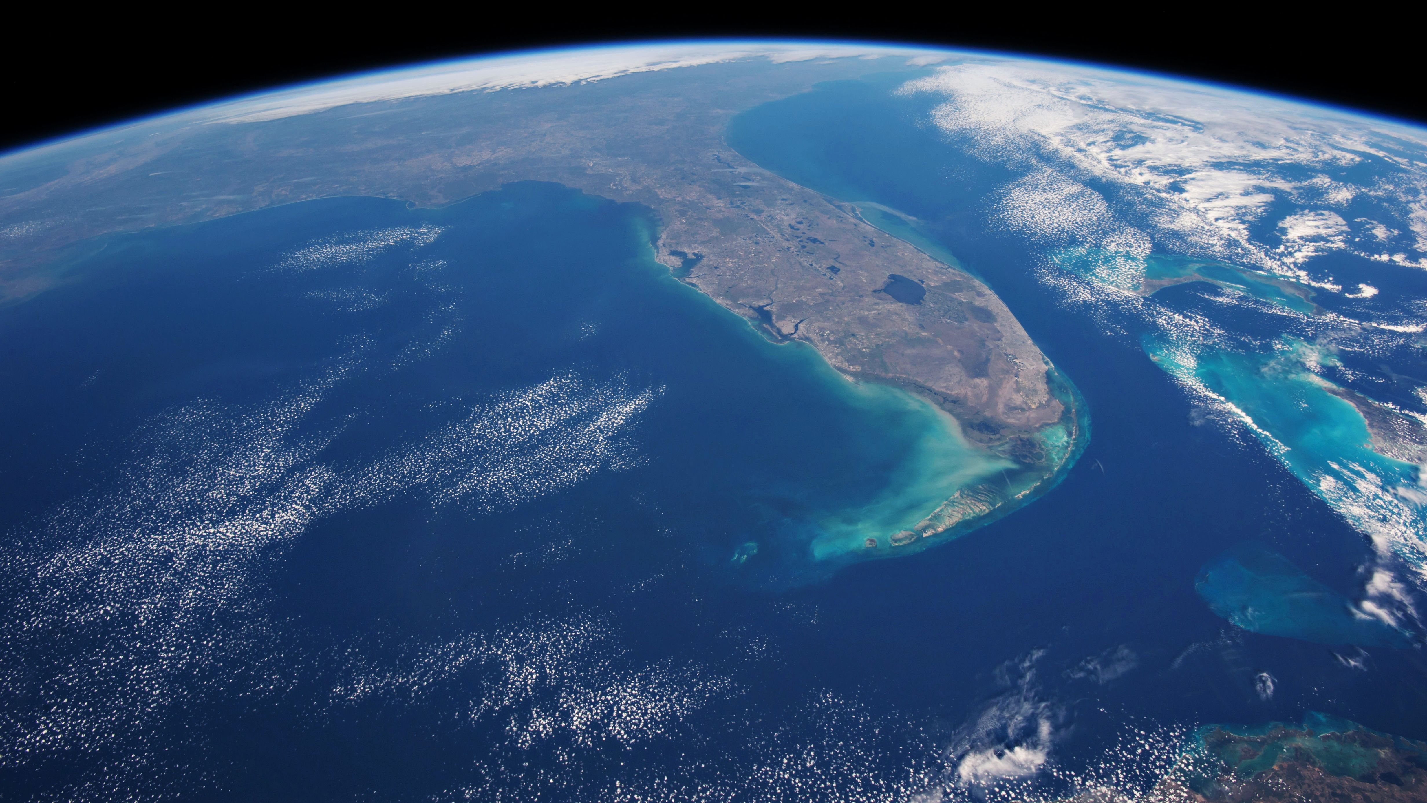 Florida from Space HD Wallpaper Earth from space