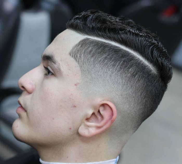 Wave Fade Haircut How To Cut A Basic Taper Length You
