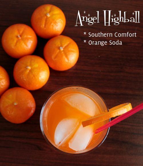 Angel Highball Mix That Drink Orange Soda Highball Craft Soda