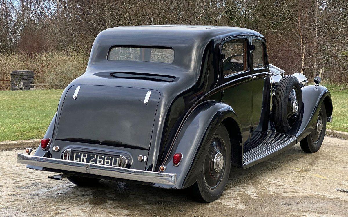 1936 RollsRoyce 20/25 Hooper Sports Saloon GXK78 For Sale