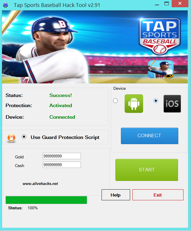 TapSportsBaseballHackToolv2.91 Tool hacks