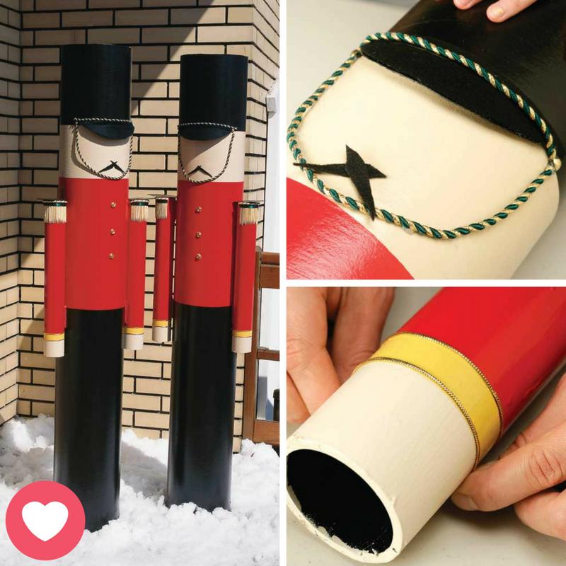 en tapes fabriquer des casse noisettes pour l 39 ext rieur no l nutcracker christmas. Black Bedroom Furniture Sets. Home Design Ideas