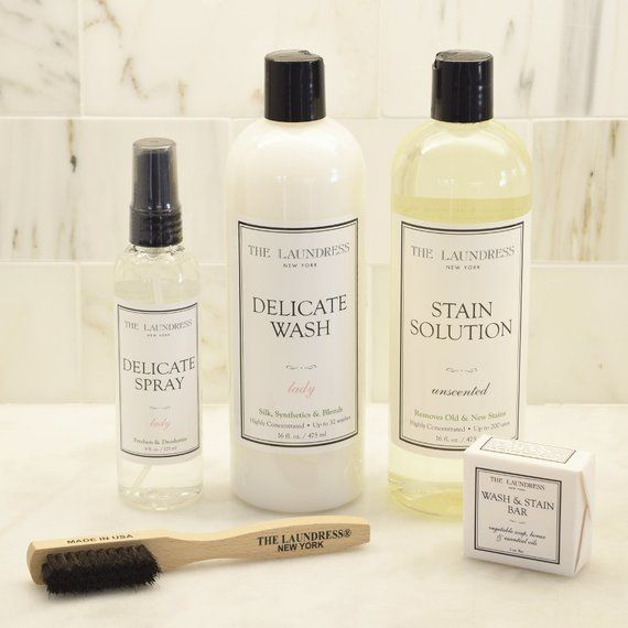Fresh N Clean Luxury Laundry Gift Basket With The Laundress Soaps