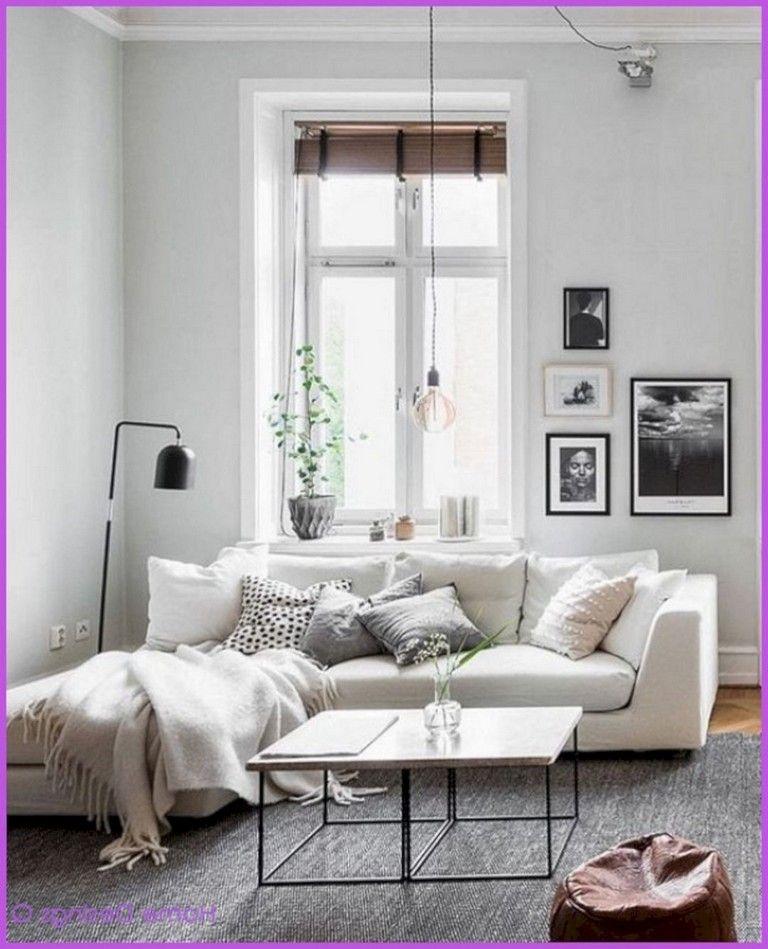 25+ Astonishing Small Apartment Living Room Decorating ...