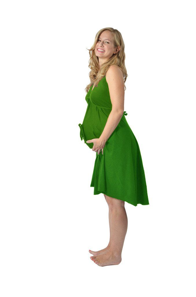 Pretty Pushers Women's I Dream Of Sushi Labor And Delivery Gown One Size (2-16 pre-pregnancy) Navy/Pink