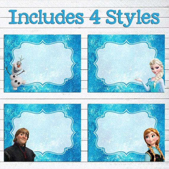 photograph regarding Frozen Food Labels Free Printable called Quick Down load Disney Frozen Food items Labels // Frozen