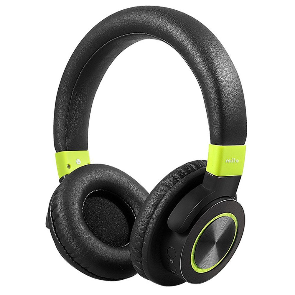 c8921d2276a Mifo F2 Over-ear Bluetooth Headphones Up to 45hours Play Wireless and Wired  Dual Mode