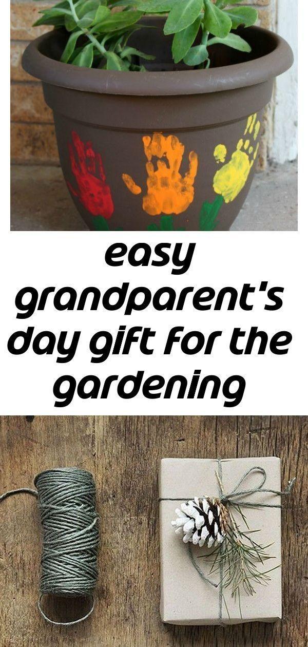 Easy grandparent's day gift for the gardening lover 1 #grandparentsdaygifts