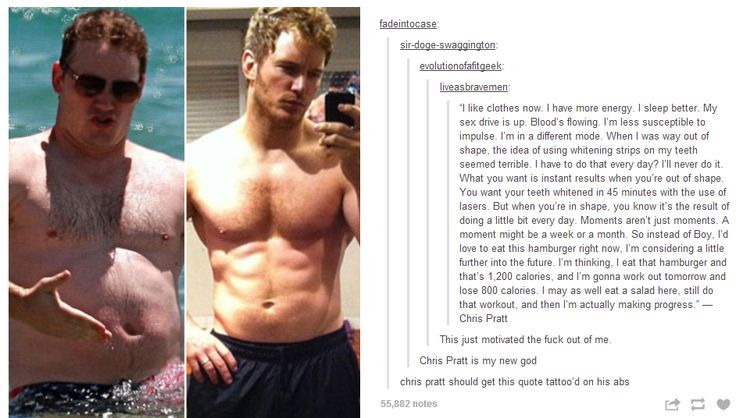 Chris Pratt has lost weight with intermittent fasting