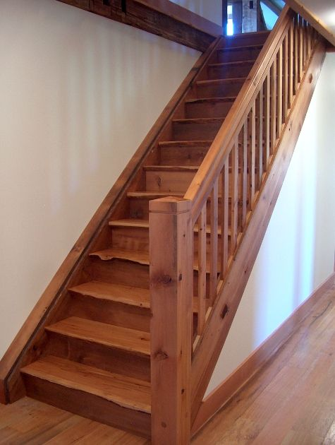rustic stairs home construction ideas Pinterest Patos, Casas y