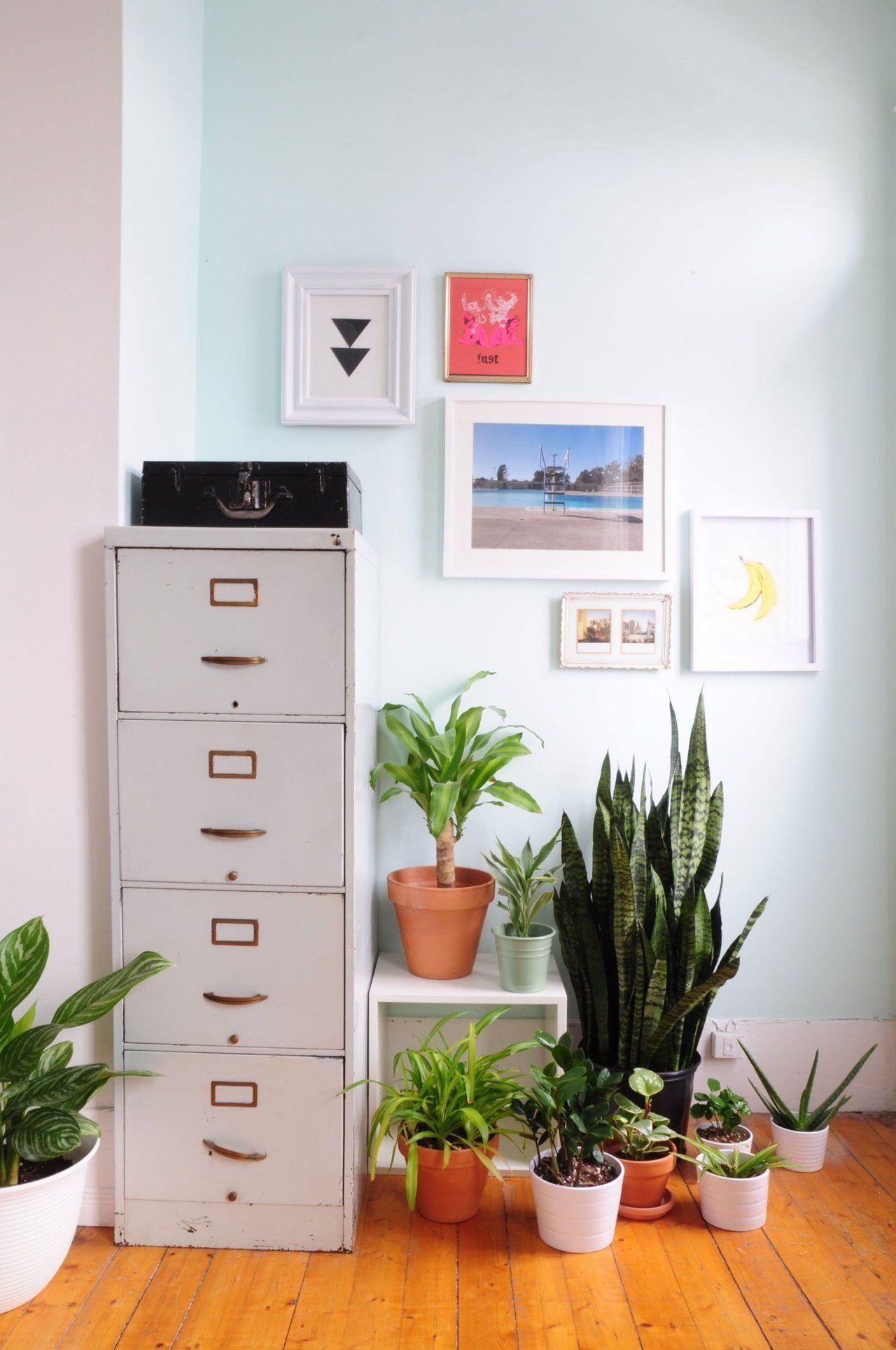 Condominium Study Room: Marie-Lyne & Karlo's Small Montreal Condo