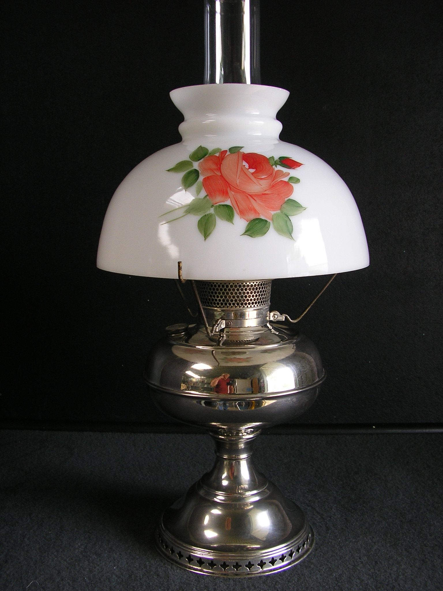 Bradley hubbard b nickel table oil lamp kerosene lamp oil bradley hubbard b nickel table oil lamp kerosene lamp oil lamp antiques mozeypictures Image collections