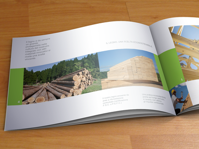 A4 landscape Brochure | Brochures and Corporate brochure